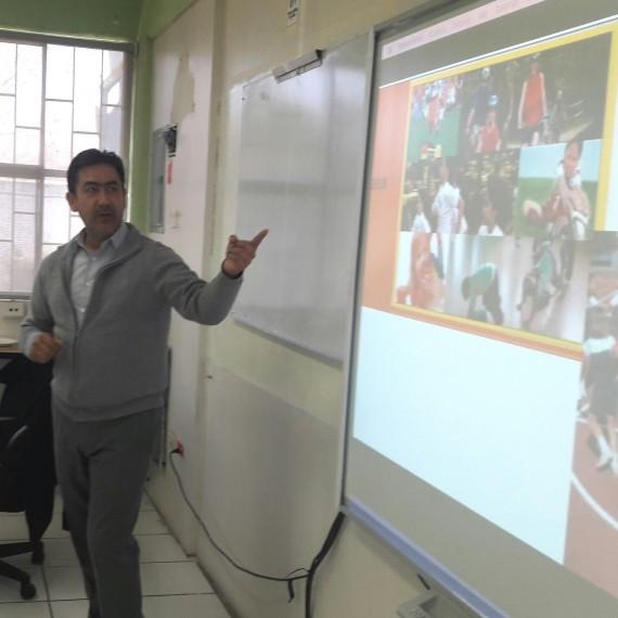 Análisis de la Educación Física del Área de Desarrollo Personal y Social y el Glosario.