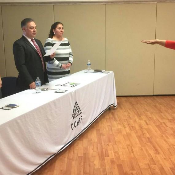 "Como producto de Curso de Titulación Mejora Escolar, Karenth Ojeda Beltrán, de CCHEP extensión Cuauhtémoc, presentó su producto profesional denominado ""Inclusión educativa, compromiso COBACH""."