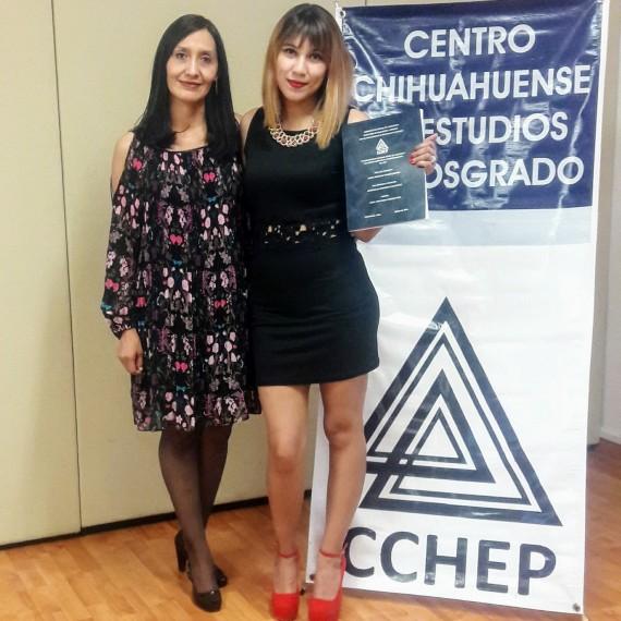 CCHEP Felicita a la Maestra Laura Michel Robles Campos por obtener el grado de Maestra en Desarrollo Educativo.