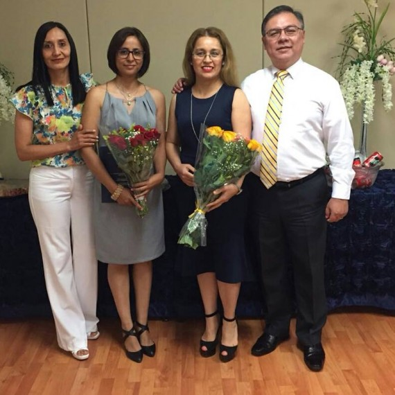 ¡Felicidades Mtra. Erika Gabriela, un gran ejemplo de profesionalismo!!