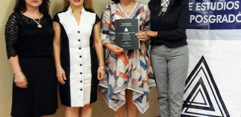 ¡Felicidades Mtra. Itzel, enhorabuena por este logro profesional!