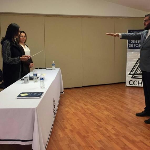 ¡Muchísimas Felicidades Mtro. Pedro Moriel, CCHEP se congratula con tu éxito!