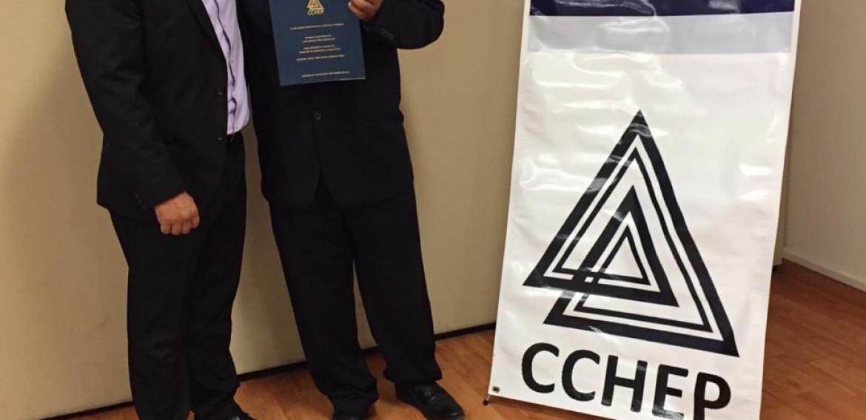 ¡Enhorabuena Mtro. Luis Enrique Ríos, qué sigan los éxitos en tu trayecto profesional!