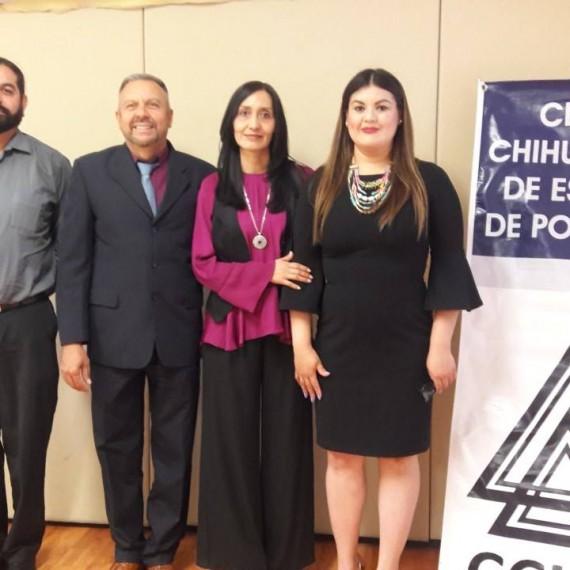¡Muchísimas felicidades Mtra. Luisa Aidé, el CCHEP se congratula con tu titulación y te desea éxito en el seguimiento de tu proyecto!