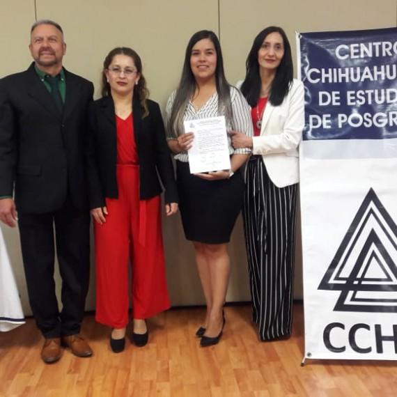 Corina, te felicitamos por este logro y te deseamos ¡mucho éxito en futuros proyectos!