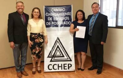 ¡Enhorabuena Mtra. Angélica, el CCHEP la felicita y le desea éxito en el seguimiento e implementación de su proyecto!