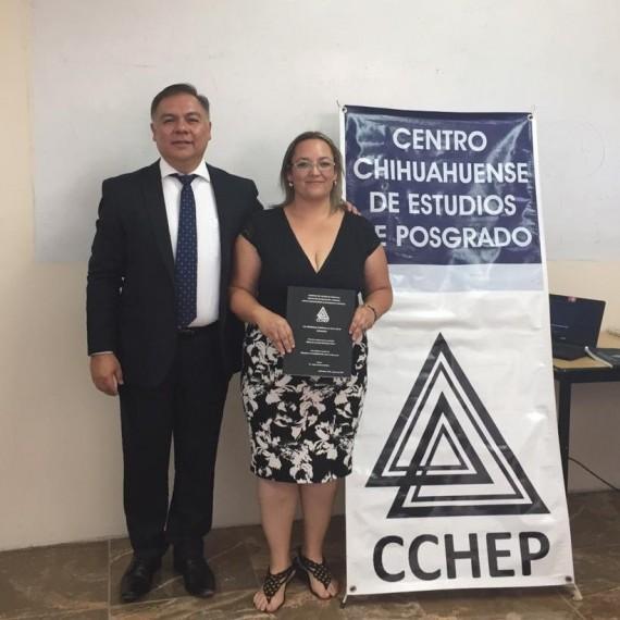 ¡Muchísimas felicidades Mtra. Lourdes Mendoza, éxito en su trayecto profesional!