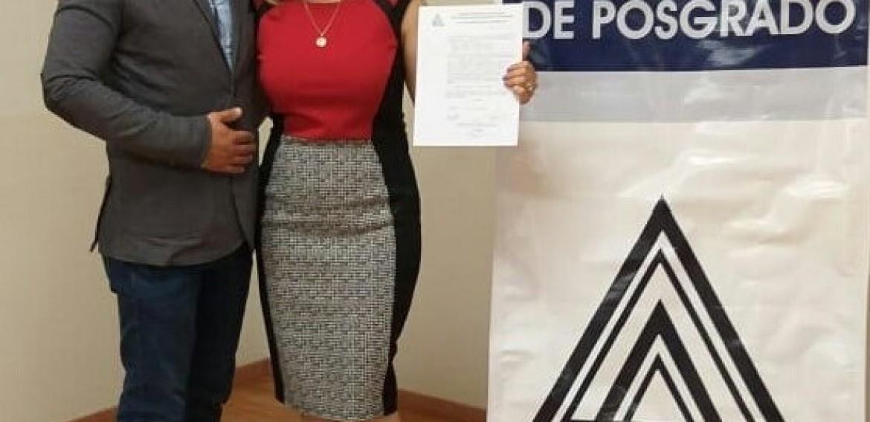 ¡Muchísimas felicidades Mtra. Cristina Mata Franco, el CCHEP se congratula con tu titulación y te desea éxito en el seguimiento de tu proyecto!