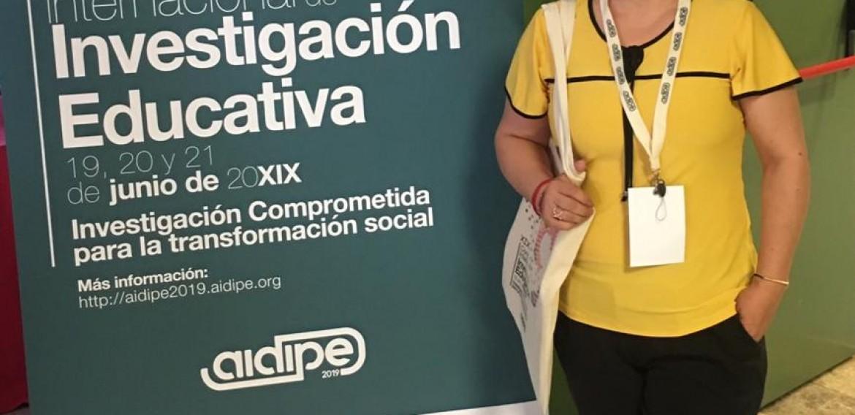 La Dra. Sara Torres Hernández participa en el XIX Congreso Internacional de Investigación Educativa.