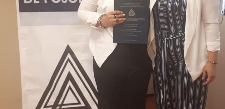 ¡Muchísimas felicidades Mtra. Flor María, el CCHEP se congratula con su proceso de titulación!