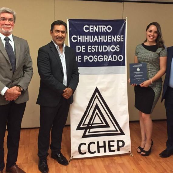 ¡Enhorabuena Mtra. Delma Villalobos, el CCHEP la felicita y desea mucho éxito en su trayecto profesional!