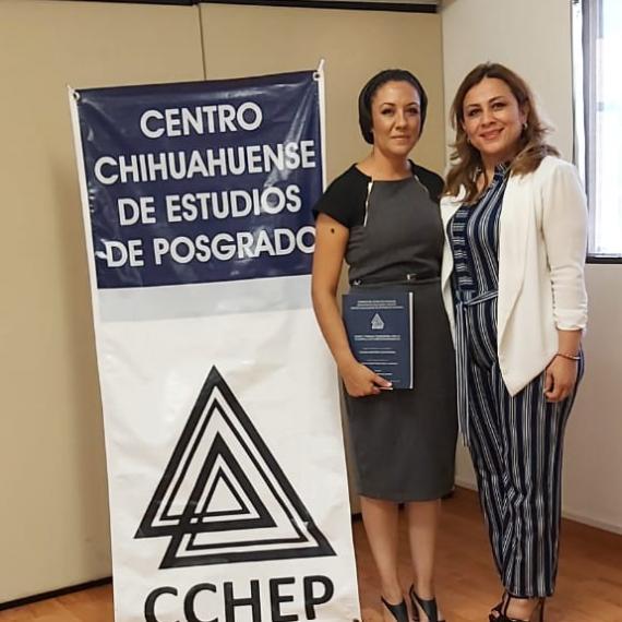 ¡Enhorabuena Mtra. Cecilia Ordóñez, el CCHEP le desea el mayor de los éxitos en su trayecto profesional!