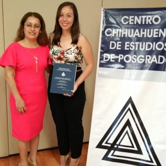 ¡Felicidades por este logro Profra. Karen Judith Enríquez Sapién!