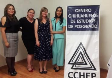 La comunidad del Cchep te felicita y desea el mayor de los éxitos.