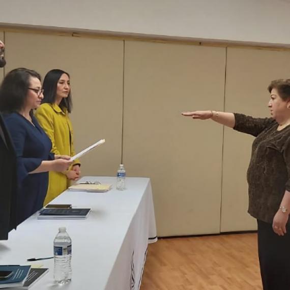 Felicidades Mtra. Linda Lucila Erives Aragón
