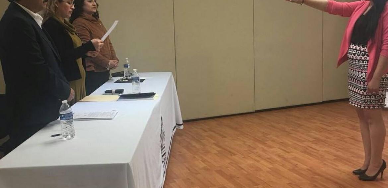 """Esta mañana María del Socorro González Martínez, presentó su examen para obtener el grado de Maestra en Desarrollo Educativo. El título de su trabajo fue: """"El significado del proceso de evaluación del aprendizaje en la escuela primaria""""."""