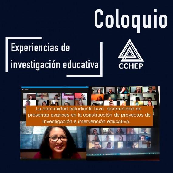 """CCHEP llevó a cabo el coloquio de investigación, en esta ocasión denominado: """"Compartiendo experiencias de investigación""""."""